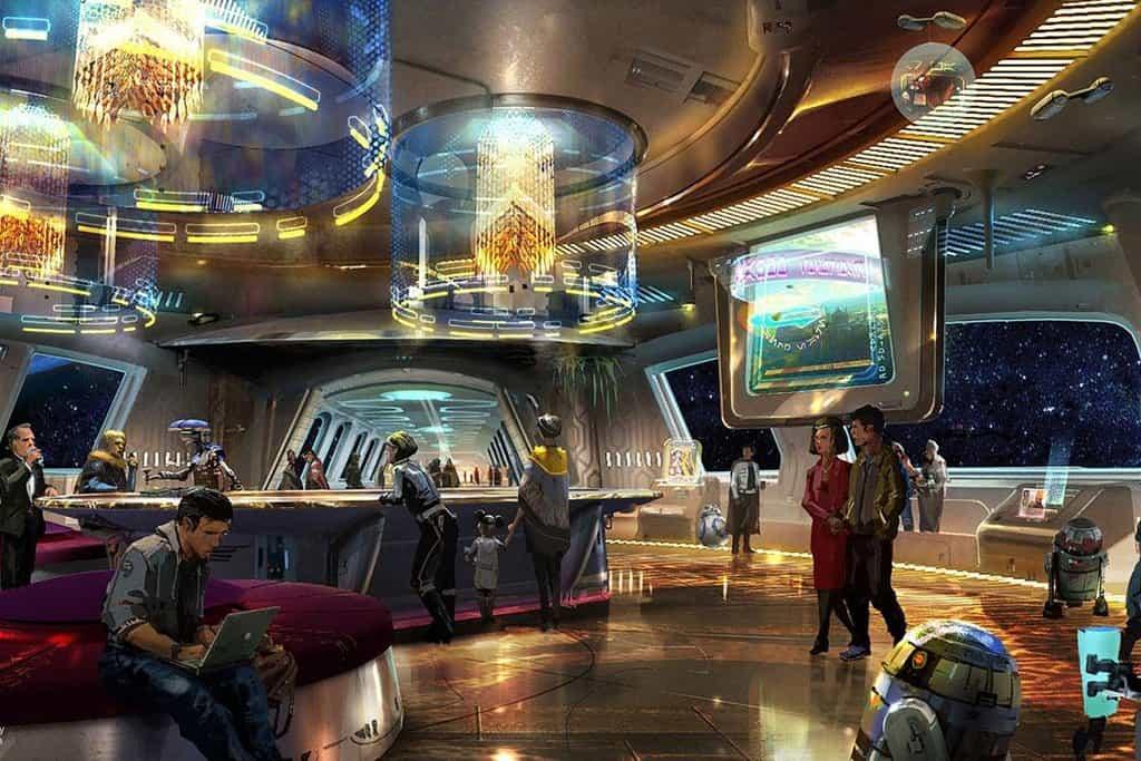 Koncept hotelu na motivy Hvězdných válek