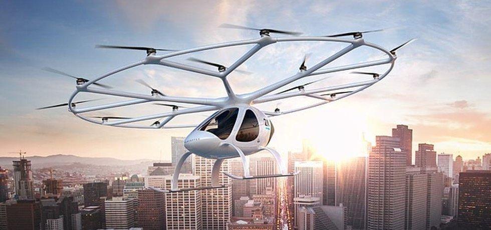Volocopter, ilustrační foto