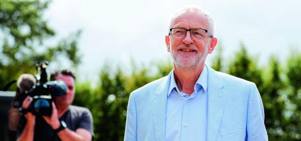 Šéf labouristů Jeremy Corbyn