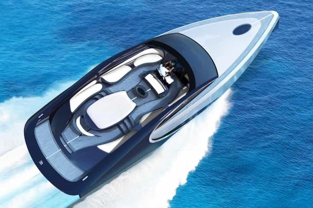 Jachta Bugatti Niniette 66 je výsledkem spolupráce mezi automobilkou Bugatti a výrobcem luxusních jachet Palmer Johnson