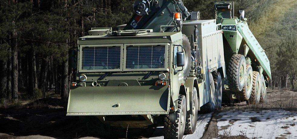 Tatra Force 8x8 vyprošťovací vozidlo