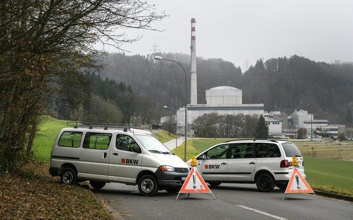 Švýcarská jaderná elektrárna Mühleberg, ilustrační foto