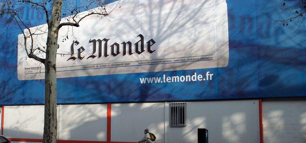 Le Monde, ilustrační foto