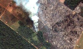 Brazílie čelí kritice za požáry v Amazonii. Macron obvinil Bolsonara ze lhaní