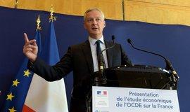 Francouzský ministr financí Bruno Le Maire