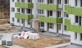 Výstavba nových bytů v Praze (ilustrační foto)