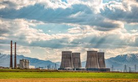 Jaderná elektrárna v íránském Araku