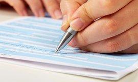 Zápočtový list - ilustrační foto