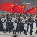 Vojenská přehlídka u příležitosti 70. výročí založení Číny