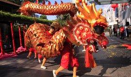 Čína vítá rok draka