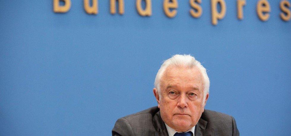 Místopředseda německého Spolkového sněmu a liberální Svobodné demokratické strany (FDP) Wolfgang Kubicki