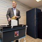 Předseda KDU-ČSL a kandidát do Senátu Pavel Bělobrádek odvolil v Náchodě