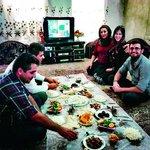 Oběd u rodiny v provincii Fars