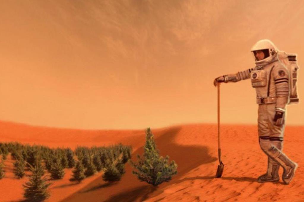 Kolonizace Marsu, ilustrační toto