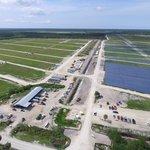 Výstavba solárního parku pro město Babcock Ranch.