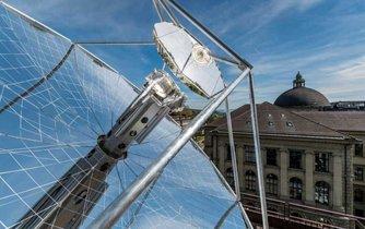 Solární rafinérie v Curychu.