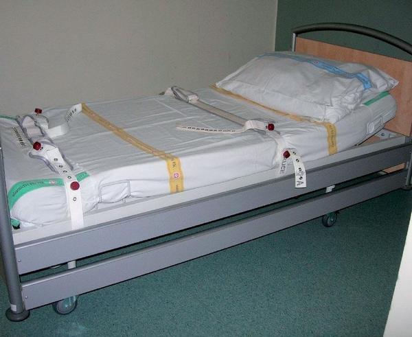 Fyzické omezení pacienta na akutním psychiatrickém oddělení
