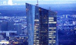 Sídlo ECB ve Frankfurtu.