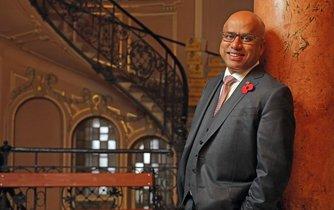 Sandžív Gupta, výkonný předseda skupiny GFG Alliance, kam patří i Liberty House