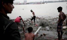Úklid řeky Gangy, ilustrační foto