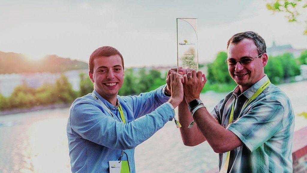 Filip Sedlák a Pavel Konečný z firmy Neuron soundwave