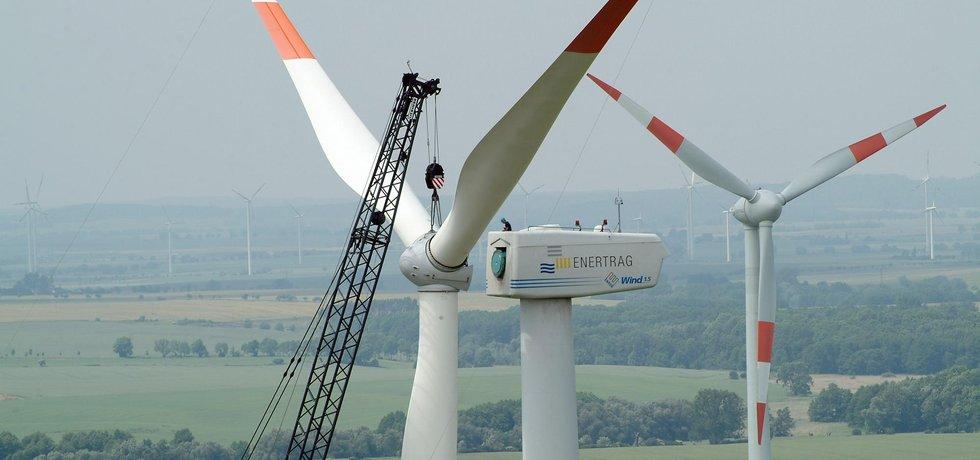 Instalace rotoru, ilustrační foto