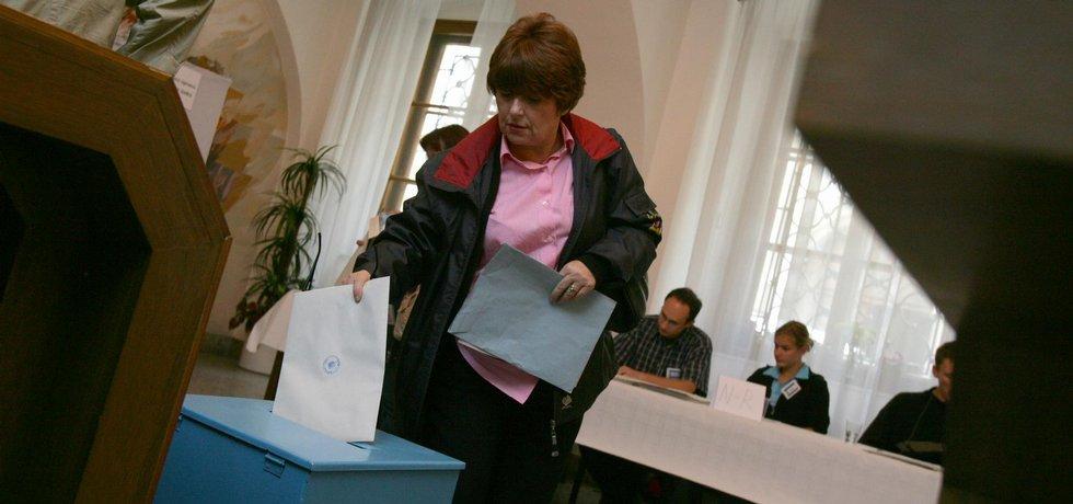 Volby - ilustrační foto