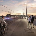 Most budou moci využívat jen tramvaje, chodci, cyklisté a vozidla Integrovaného záchranného systému.