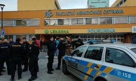 Střelba v ostravské nemocnici má šest obětí. Pachatel spáchal sebevraždu