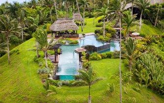 Tropický ráj na Fidži