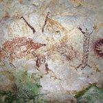 Nejstarší malba zvířete - V jeskyni na ostrově Borneo byla objevena malba zvířete připomínajícího krávu, která podle studie časopisu Nature vznikla nejdříve 40 tisíc let př.n.l., může však být ještě o čtrnáct tisíc let starší.