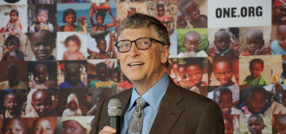 Bill Gates v Německu (Zdroj: ČTK)