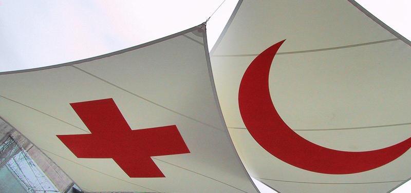 červený kříž, arabský svět, půlměsíc