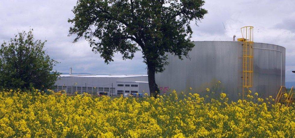 Průmyslový areál, ilustrační foto