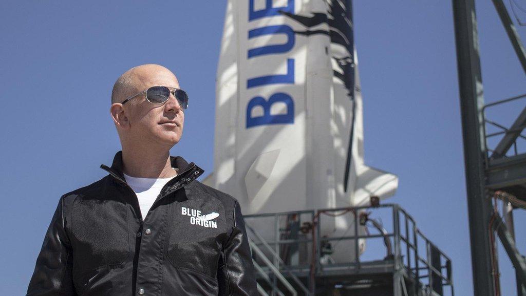 Jeff Bezos, zakladatel vesmírné společnosti Blue Origin (Zdroj: Blue Origin)