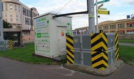 Dobíjecí stanice pro elektrobus
