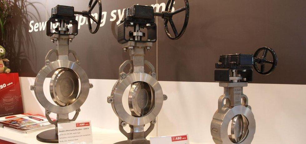 Těsnicí klapky z dílny  Abo valve