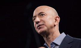 Šéf Amazonu a Blue Origin Jeff Bezos