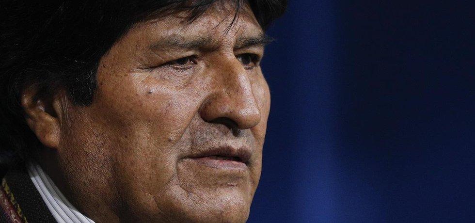 Prezident Bolívie Evo Morales podal demisi