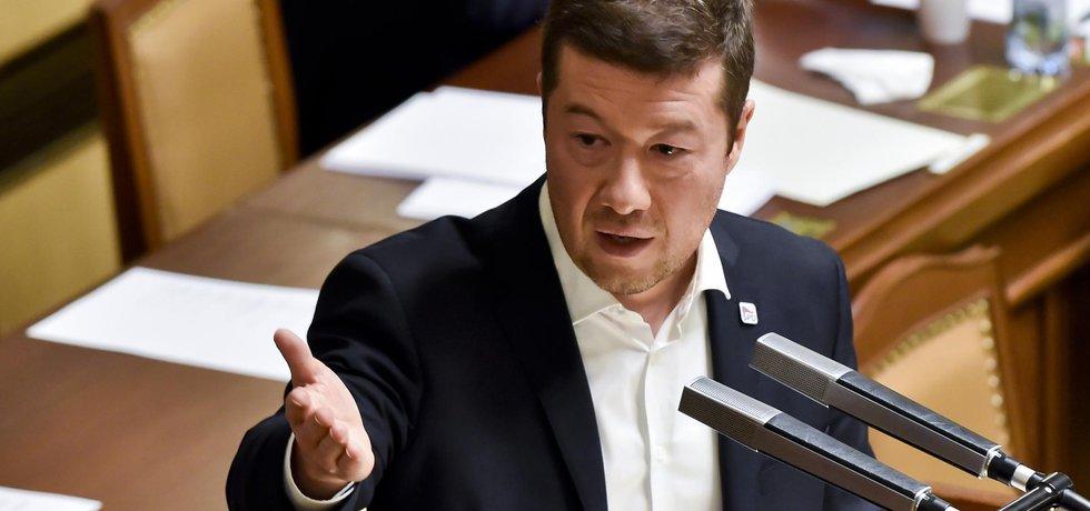 Místopředseda Sněmovny Tomio Okamura