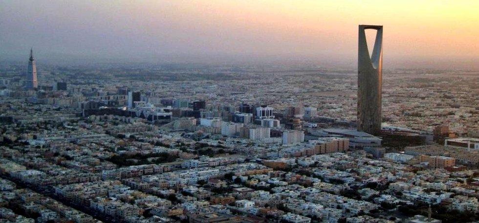 Výhled na hlavní město Saudské Arábie Rijád