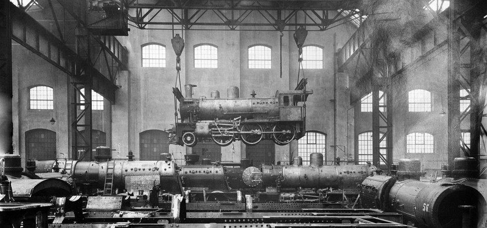 Škoda. Po první světové válce musely Škodovy závody přejít z válečné výroby na mírovou.