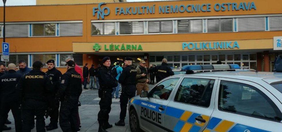Policie zasahuje po střelbě v ostravské nemocnici