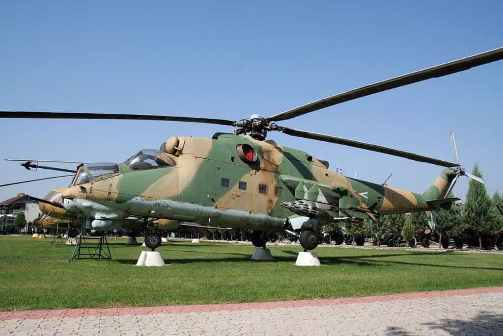 V jiných zemích jsou vrtulníky Mi 24 muzejními kousky
