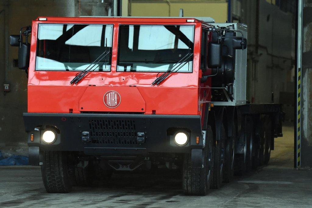 Tatra vyrobila největší automobil