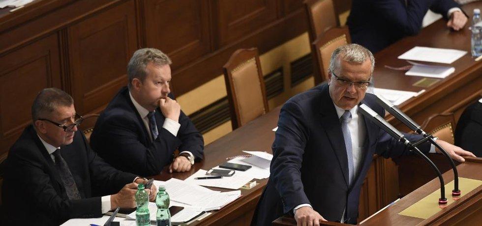 Sněmovní hlasování o důvěře vládě Andreje Babiše