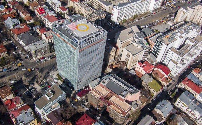 Budova Crystal Tower v Bukurešti