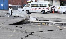 Zemětřesení na Novém Zélandu