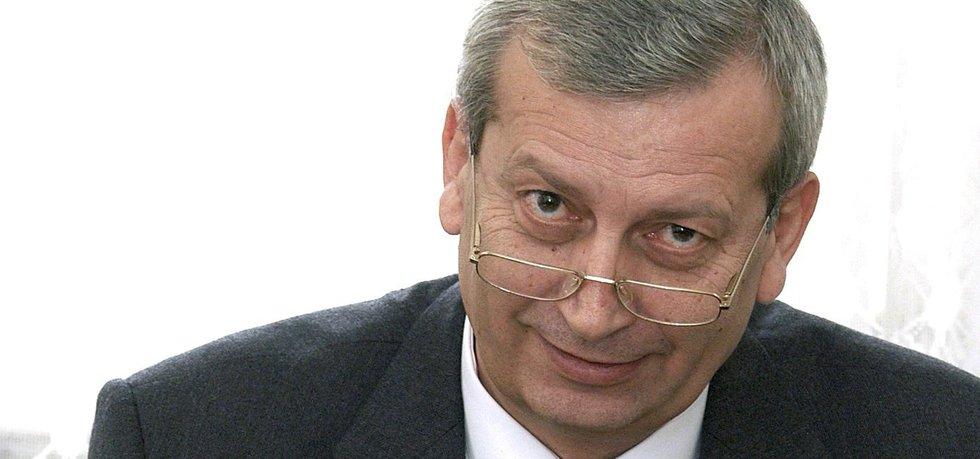 Bývalý generální ředitel Úřadu pro zastupování státu ve věcech majetkových (ÚZSVM) Miloslav Vaněk