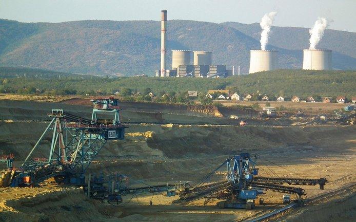 Maďarská elektrárna Mátrai Erömü